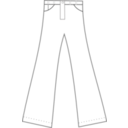 download Pants clipart image with 135 hue color
