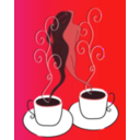 download Love Coffee clipart image with 315 hue color