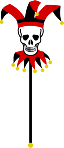 Skull Marotte
