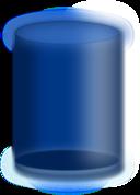Blue Cylinder