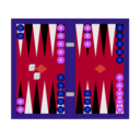 download Backgammon Tavli clipart image with 225 hue color