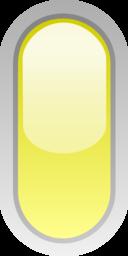 Led Rounded V Yellow