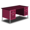 download An Office Desk clipart image with 315 hue color