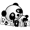 download Doudoulinux Panda clipart image with 225 hue color