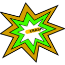 download Crash clipart image with 45 hue color