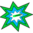download Crash clipart image with 135 hue color