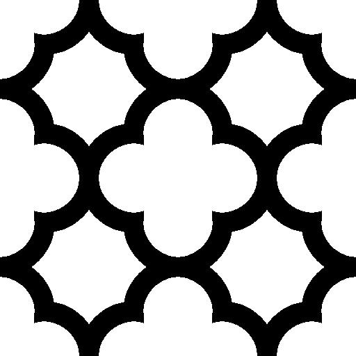 Quatrefoil Clipart  i2Clipart Quatrefoil Outline