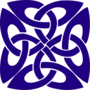 download Celtic Knot clipart image with 135 hue color