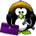 download Craftsman Penguin clipart image with 45 hue color
