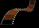 Sepia Film Strip