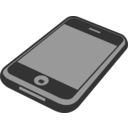 download Iphone 3gs clipart image with 315 hue color
