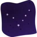 download Stars In The Night clipart image with 45 hue color