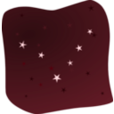 download Stars In The Night clipart image with 135 hue color