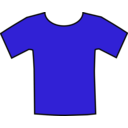 download Blueteeshirt clipart image with 45 hue color