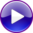download Windows Media Player Play Button Updated clipart image with 45 hue color