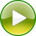 download Windows Media Player Play Button Updated clipart image with 225 hue color