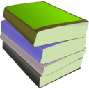 download Stack Of Paperbacks clipart image with 45 hue color