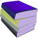 download Stack Of Paperbacks clipart image with 225 hue color