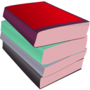 download Stack Of Paperbacks clipart image with 315 hue color