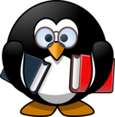 Bookworm Penguin