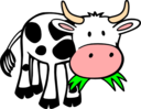 Grass Eating Cow