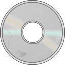 download More Obviously Damaged Compact Disc clipart image with 225 hue color