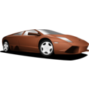 download Car Automobilis Lamborghini clipart image with 90 hue color