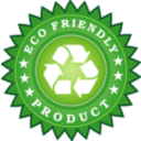 Ecology Friendly Product Sticker