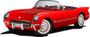 Corvette 1953 Red