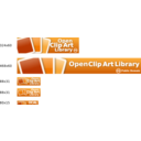 Openclipart Banners And Buttons