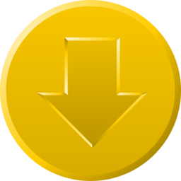 Golden Download Button