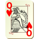 Guyenne Deck Queen Of Hearts