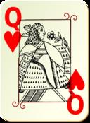 Guyenne Deck Queen Of Hearts