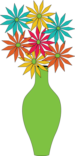 Vase Of Flowers Clipart | i2Clipart - Royalty Free Public ...