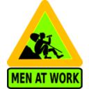download Men At Work clipart image with 45 hue color