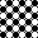 download Circles Inside Chessboard clipart image with 45 hue color