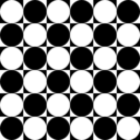 Circles Inside Chessboard