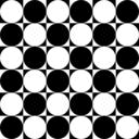 Circles Inside Chessboard