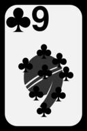 Nine Of Clubs