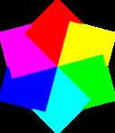 6 Squares Hexagram