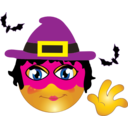 Witch Smiley Emoticon