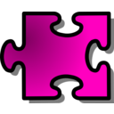download Red Jigsaw Piece 16 clipart image with 315 hue color
