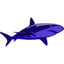 download Shark Pure clipart image with 45 hue color