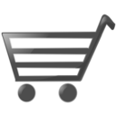download Shopping Cart clipart image with 180 hue color