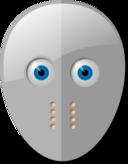 Hockey Mask And Eyes