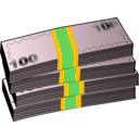 download Money clipart image with 45 hue color