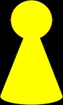 Ludo Piece Mustard Yellow