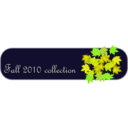 download Fall Collection Tab clipart image with 45 hue color