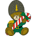 Christmas Guard Bear