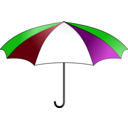 download Umbrella Colorful clipart image with 135 hue color